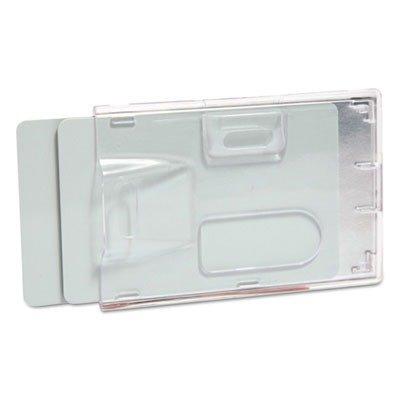 Baumgartens - 2-Badge Blocking Smart Card Holder, Vert/Hor, 20/BX, CL, Sold as 1 Package, BAU 67530