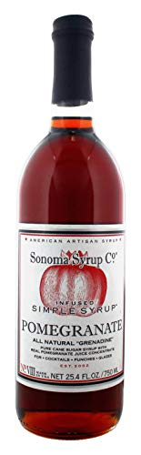 Sonoma Syrup Pomegranate Simple Syrup 25.4 oz