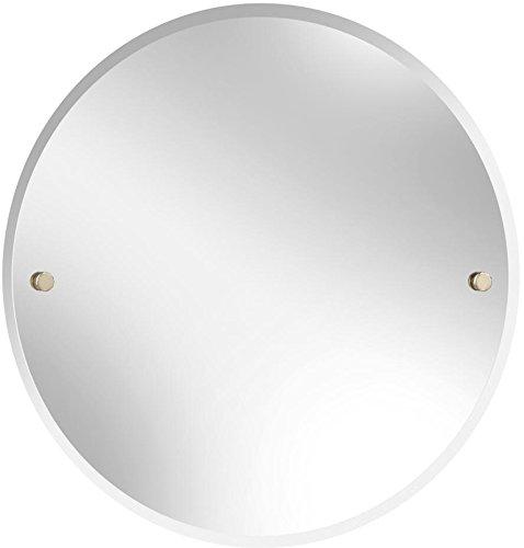 Bristan COMP MRRD G Round Mirror, Gold, 610 -
