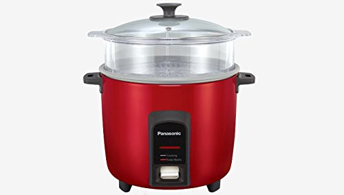 PANASONIC Rice Cooker/Steamer SR-Y18FGJ Burgundy (10 cup)
