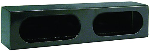 Buyers Products LB3163 Dual Oval Light Box, Black Powder Coat Steel