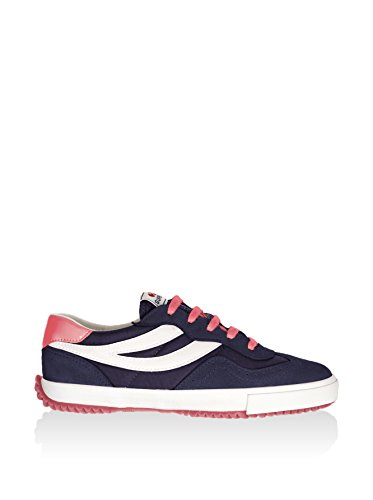 Superga 2832-NYLU Zapatillas de ante, Unisex - Adulto Blanco (Blue/White/Raspberry)