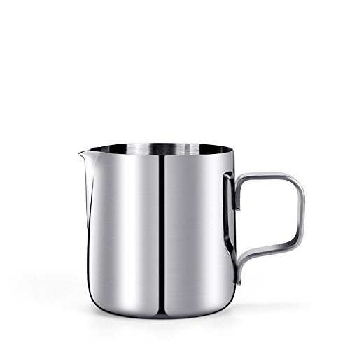 5 Oz. Milk Pitcher, HULISEN Stainless Steel Espresso Pitcher Latte Frothing ()