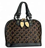 Louis Vuitton Monogram Eclipse Alma