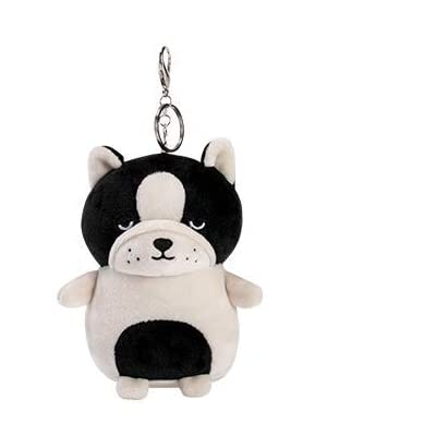 TKitte New French Bulldog PlushToy Mascot Dog Stuffed Doll for Kid,3D Cotton Dog Doll Ornaments to Pendant: Office Products