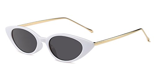 de Verano Metal UV400 Estilo Marco Pequeño 02 Gafas protección Vintage sol de Marco BOZEVON Mujeres RSwxIwH