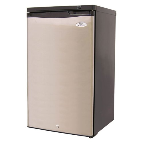Sunpentown UF-311S Energy Star 2.8 Cubic-Foot Upright Freezer, Stainless