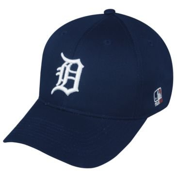 Amazon.com   MLB ADULT Detroit TIGERS Home Blue Hat Cap Adjustable ... 9fe5566ea