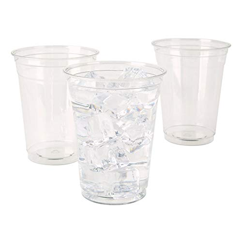 Office Depot Plastic Cups, 16 Oz, Clear, Pack Of 100, 11590