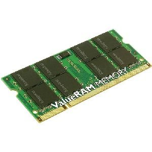 Kingston 1GB DDR2 SDRAM Memory Module - 1GB (1 x 1GB) - 667MHz DDR2-667/PC2-5300 - DDR2 SDRAM - 200-pin - KTT667D2/1G ()