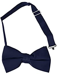 Boy's Solid Banded Bow Ties