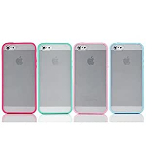 get TPU Border Frosted Colorful Case for iPhone5c (Assorted Color) , Yellow