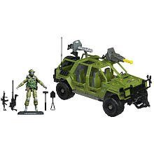 GI Joe GIJ Joe V.A.M.P. MK-II Multi-Purpose Attack Vehicle with Action Figure