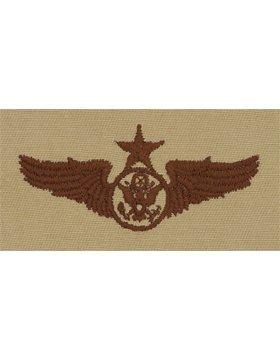 AF-SD308, Enlisted Aircrew Member, Senior, Desert #102703DT USAF SEW-ON'S