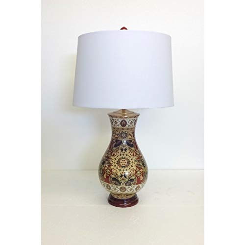 - Persian Style Pattern Porcelain Table Lamp