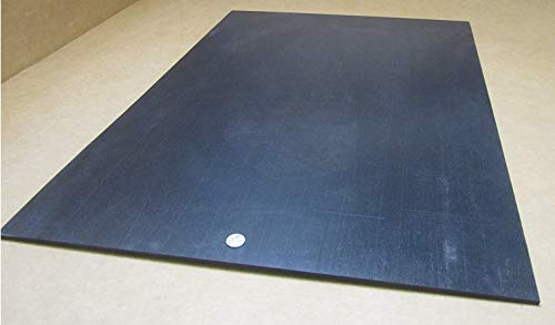 "1//4/"" HDPE Polyethylene Thick x 24/"" Wide x 36/"" Long Sheet Black .250/"""