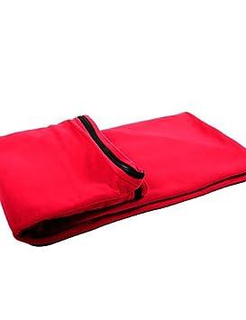 Zyp Saco de dormir Liner (verde. Rojo. Negro. Fuchsia) Transpirabilidad. antiinsekten. cálido mantener poliéster, fucsia: Amazon.es: Deportes y aire libre
