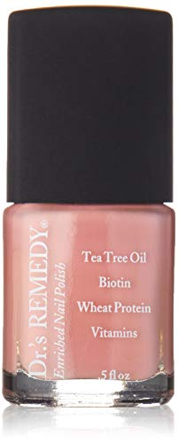 Dr.s Remedy Enriched Nail Polish, Resilient Rose, 0.5 Fluid Ounce