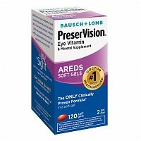PreserVision Eye Vitamin & Mineral Supplement Softgels, 120 ea - 2pc