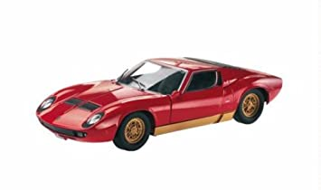 Mondo Motors 1 24 Lamborghini Miura Diecast Model Kit Amazon Co Uk