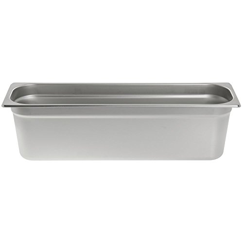 Half Size (Long) Stainless Steel Steam Table Pan 6