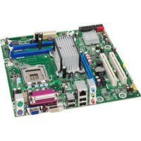 Intel Core 2 Quad/Intel B43/DDR2/A&V&GbE/MATX Motherboard, Bulk ()