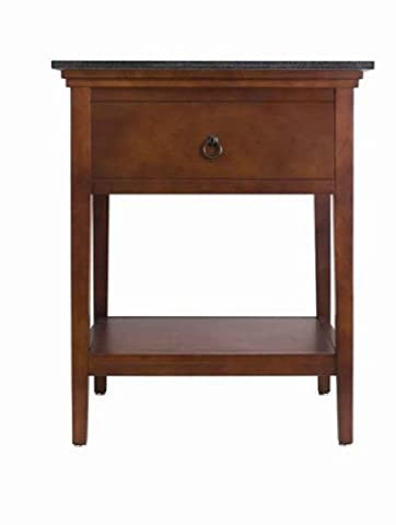American Standard 9373.100.335 Brook Console Table, Cognac - American Standard Console