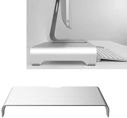 Size HUFAN Universal Aluminum Alloy Single-Layer Laptop Stand Thickness 3mm 38 x 22 x 6cm