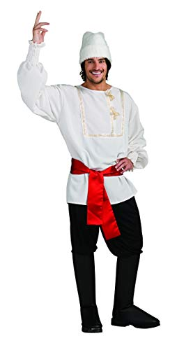 Rubie's Men's White Russian Costume, As Shown, -