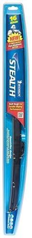 Michelin 8016 Stealth Hybrid Windshield Wiper Blade with Smart Flex Design, 16