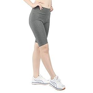 iLoveSIA Women's Tight Capri Yoga Workout Shorts US Size XL Grey