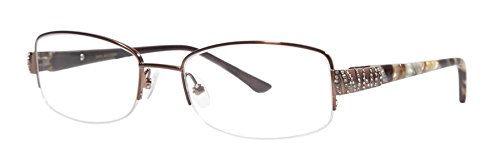 Dana Buchman HOLDEN Brown Eyeglasses Size50