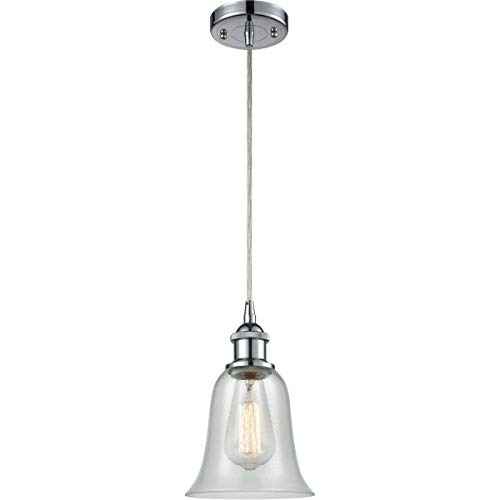 Mini Pendants 1 Light Fixtures with Polished Chrome Finish Cast Brass Glass Material Medium 6