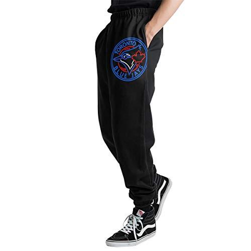 Lovesofun Toron-to Blue Ja-ys Men's Casual Jogger Sweatpants Sports Trousers Pant Elastic Waist S ()