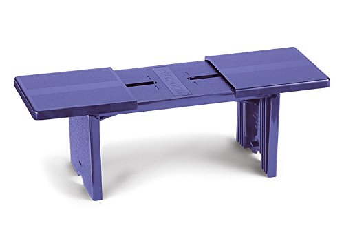 Innovative Compact Portable Footrest Purple - Made In USA by Econo High