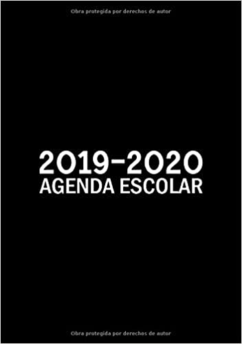Amazon.com: 2019-2020: Agenda escolar: Del 1 de septiembre ...