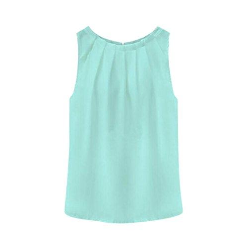 Ride Lace Vest - Womens Tank Tops,Tropical Sexy T Shirt Fold Sleeveless Chiffon Blouses Vest Tops