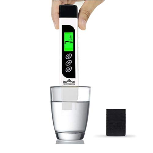 Tds Meter Digital Water Tester Dumsamker Professional 3 In 1 Tds Temperature And Ec Meter With Carrying Case 0 9999ppm Ideal Ppm Meter For Drinking Water Aquariums And More