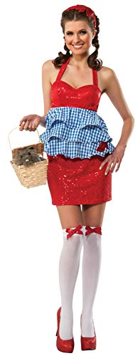 Rubie's Women's Wizard Of Oz Dorothy Costume Babydoll Top, Multi, -