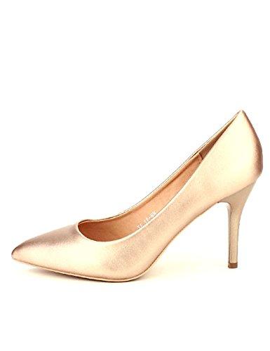 Cendriyon Escarpin Simili Color Champagne CINKS Chaussures Femme Rose kSD3FPQmK
