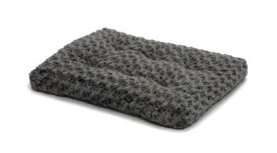 Midwest Homes Ombre Gray Swirl Fur Pet Bed