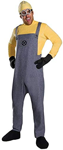 Rubie's Despicable Me 3 Adult Deluxe Minion Dave Costume, Standard]()