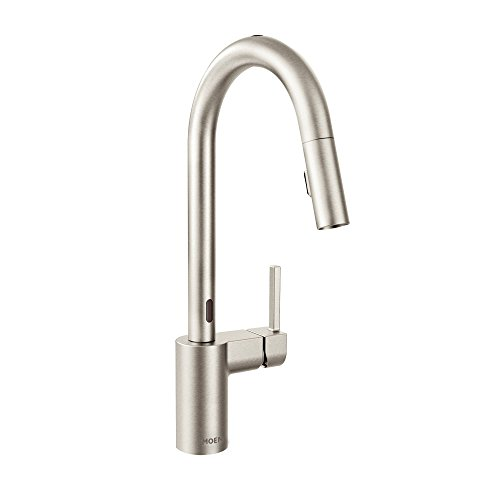 Moen 7565ESRS Align One-Handle High Arc Pulldown Kitchen Faucet with MotionSense, Spot Resist Stainless (Best Of Don Moen Mix)