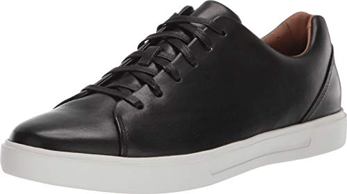 CLARKS Men's Un Costa Lace Black Leather 9 D US ()