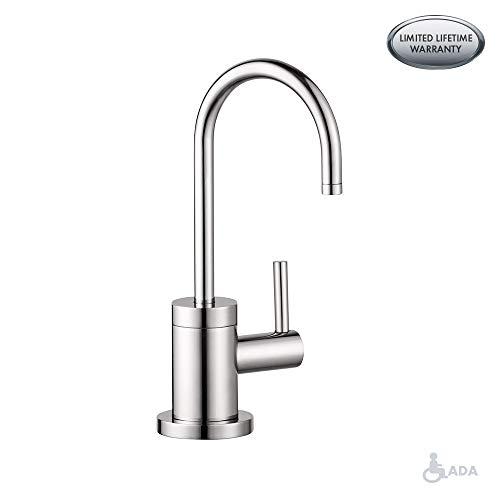 hansgrohe chrome kitchen faucet - 5