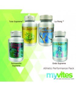 Supreme Nutrition Athletic Performance Package - Pack of 4 by Supreme Nutrition