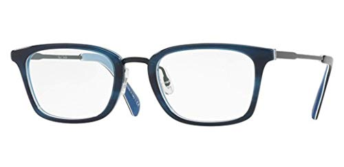 - PAUL SMITH STEPHENSON 8264 - 1498 EYEGLASSES NAVY HORN/BLUE W/ DEMO LENS 50MM