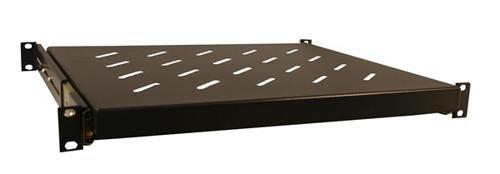Gator Rackworks Rack Mount Sliding Accessory Shelf; 1U Size - 14.8'' Deep (GRW-SHELF1SLD)