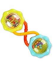 Bright Starts Rattle & Shake Barbell Toy, Ages 3 months +