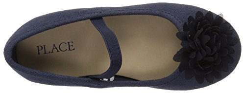 The Children's Place Girls' E TG Uni Kayla Uniform Dress Shoe, Navy, TDDLR 5 Toddler US Toddler by The Children's Place (Image #7)